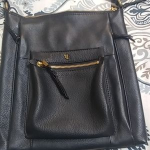 Elliott Lucca Gwen Black Leather Crossbody